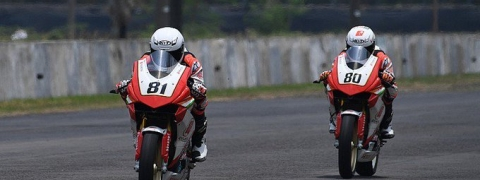 Honda riders Rajiv, Senthil open 2019 ARRC with bang