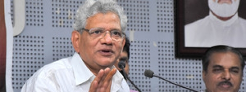 Sitaram Yechurry claims alternative alliance to come into existence after elections