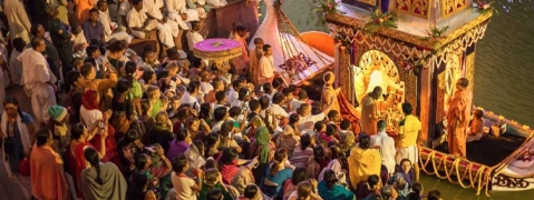 Gour Purnima:ISKCON HQ turns into a global village