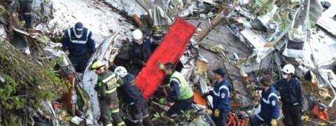 Colombia plane crash: Death toll rises to 14