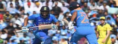 4th ODI: Dhawan, Rohit lead India to post 359 target against Australia