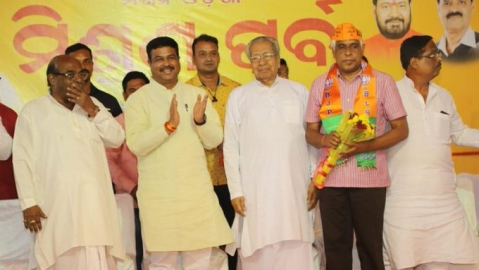 BJP fields ex CRPF chief Prakash Mishra from Cuttack