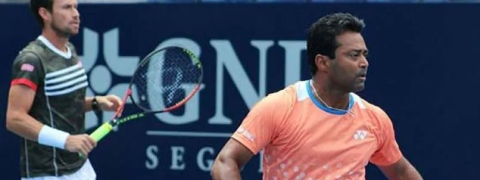 Shocking exit for Paes in doubles first round in ATP Challenger