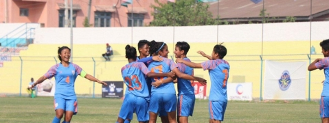 SAFF Women C'ship: India thrash Nepal 3-1 to win title for fifth time in row