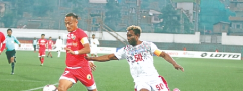 Mohun Bagan ended I-League campaign with 3-2 win over Shillong Lajong