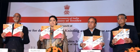 Smriti Irani launches certificate courses of NIFT, Panchkula