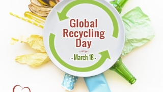 'Global Recycling Day' underlines benefits of recycling plastic-wastes