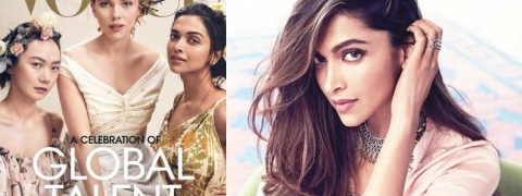 Deepika Padukone shines on cover of Vogue US