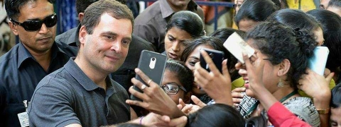 TN Govt seeks report on Rahul's  meeting in college