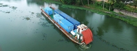 Kochi-Kottayam regular container barge service from March 8