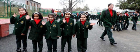 Schools, colleges reopen after winter vacation in Kashmir
