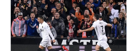 Valencia beat Betis to play Barca in Copa Del Rey final