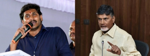 Tough battle on cards between TDP & YSRCP in AP