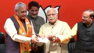 INLD legislator Gangwa from Haryana joins BJP