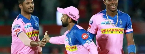 RR wins toss, invites CSK to bat first