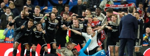 Ajax,Tottenham into Champions League semis
