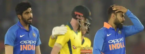 4th ODI: Australia defeat India by four wickets, level series 2-2
