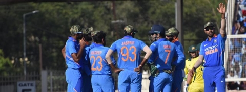 Ranchi ODI: Team India pay tribute to Indian Armed Forces, to donate match fees