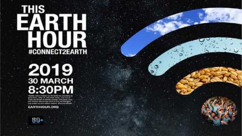 Earth Hour-2019: Let's change the way we live!