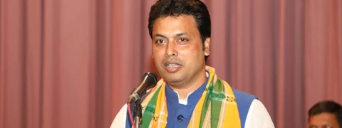Tripura CM abstains from Holi celebration as tribute to Pulwama victims