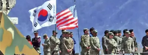 South Korea and US to end large-scale war games