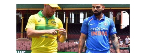 First ODI : Australia win toss, opt to bat first against India