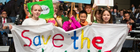Voices of young climate action activists 'give me hope', says Guterres