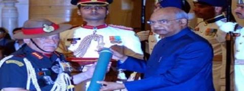 President confers gallantry awards to Armed Forces