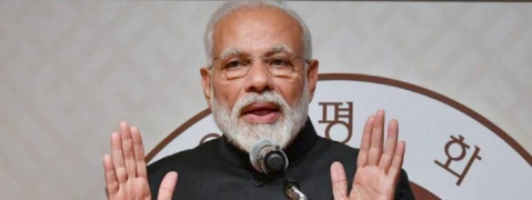 Poverty in India will go with Congress exit, says Modi