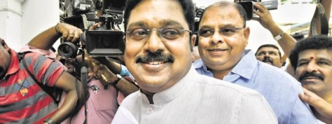 Dhinakaran release candidates' list for LS polls