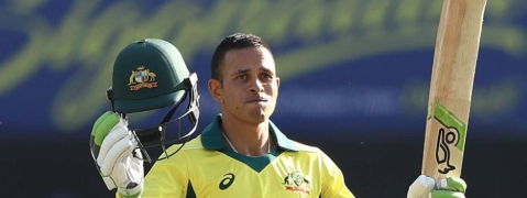 Usman Khawaja's ton helps Australia to build a massive total of 313/5