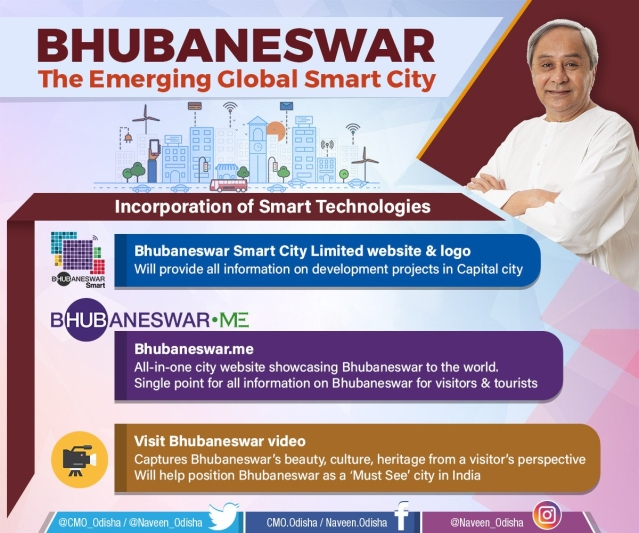 Naveen launches Bhubaneswar portal for citizens, tourists