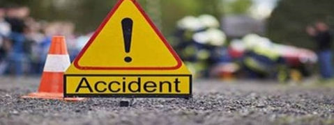 Two burnt alive in Nalagarh road mishap