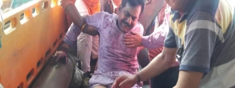 UP BJP MLA was shot during Holi
