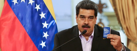 Maduro announces arrest of Colombian paramilitary leader