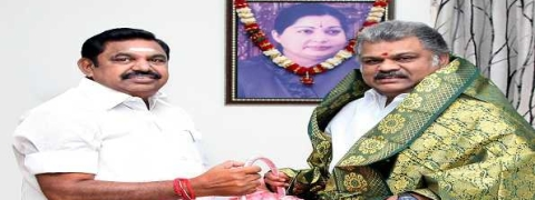 Days after sealing alliance, CM, Ministers meet Vijayakanth