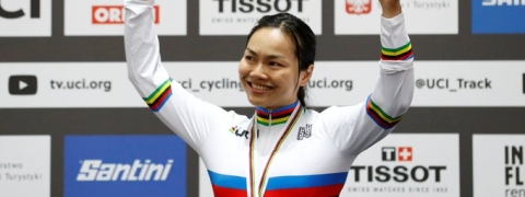 Lee Wai Sze wins women's sprint at track cycling worlds
