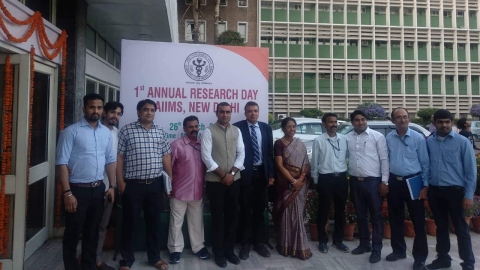 AIIMS at helm of pioneering research for nation's health: Director