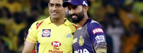 MS Dhoni wins toss for Chennai and send Kolkata to bat first