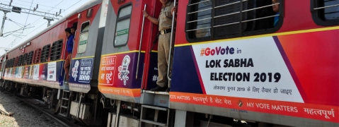 AI, Railways pulled up for poll code violation