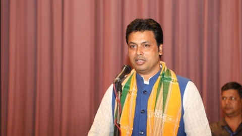 Biplab Kumar Deb showcauses BJP leader for assaulting doctor