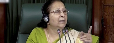 Controversies have always hit LS Speakers: Sumitra Mahajan no exception