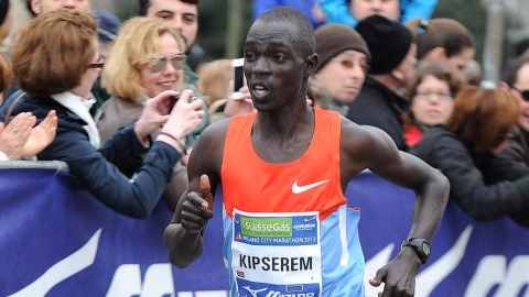 Kipserem wins Rotterdam marathon in course record