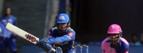 IPL 2019: de Kock 81 help MI post 187/5 against RR
