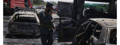Twin blasts in Afghanistan kills 3, injures 19