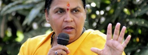 Any BJP leader can beat Diggy in Bhopal: Uma
