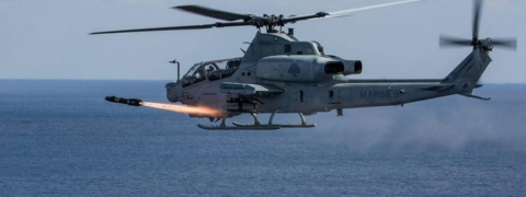 Two pilots killed in Marine helicopter crash in US Arizona