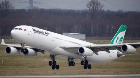 US banned Iran's Mahan Air starts flight operations between Tehran and Venezuela