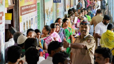 55 to 56 per cent voting recorded in Vidarbha of Mah in 1st phase
