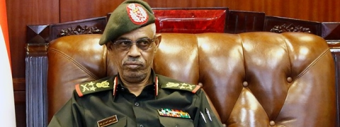 Sudan coup leader Awad steps down